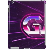 old gamer 80s tribute arcade game iPad Case/Skin