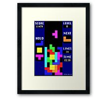 The Blocks Are Back Framed Print