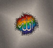 LGBT Muslim Allah by LiveLoudGraphic