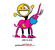 ASK Elephant & ACE Cousin by panbam