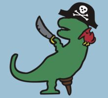 Pirate Dinosaur - T-Rex by jezkemp