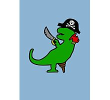 Pirate Dinosaur - T-Rex Photographic Print