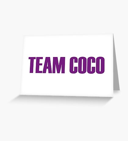Team Coco Montrese All Stars 2 Greeting Card