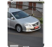 silver colored toyota camry iPad Case/Skin