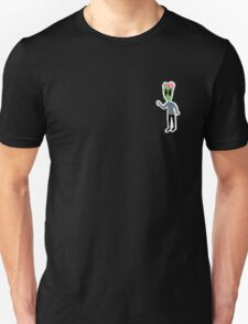 Sad Alien Boy™ Stuff With Peace Sign Unisex T-Shirt