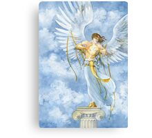 The Angel with Bells On Canvas Print