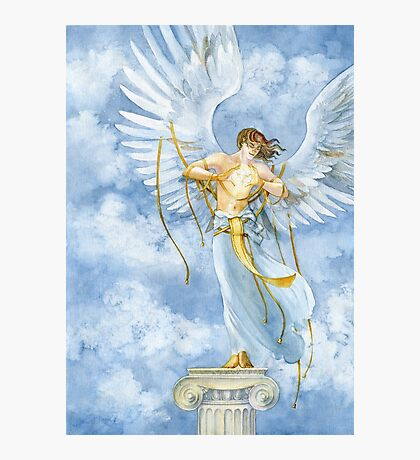 The Angel with Bells On Photographic Print