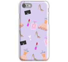 Fashion accessories seamless pattern. Vector stock. iPhone Case/Skin