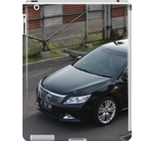 black colored toyota camry iPad Case/Skin