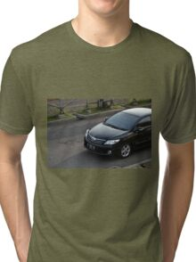 black colored toyota corolla altis Tri-blend T-Shirt