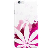 Pink Cannabis iPhone Case/Skin