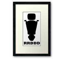 RRDDD Sports Silhouette Framed Print