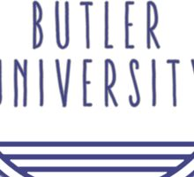 Butler University Sticker