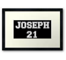 Team Joseph Framed Print