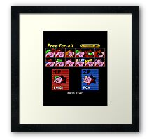 Super Kirby Brothers Framed Print