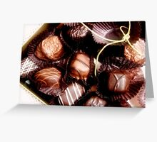 Simply Irrestible Box of Chocolates Greeting Card