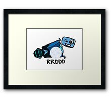 RRDDD Sexy Bot Framed Print