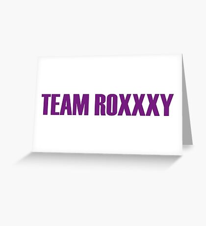 Team Roxxxy Andrews All Stars 2 Greeting Card