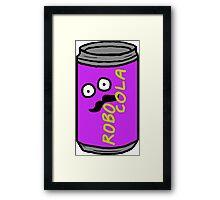 RRDDD Robo Cola Framed Print