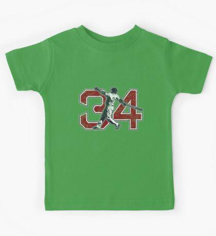 34 - Big Papi (vintage) Kids Tee