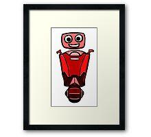 RRDDD Red Robot Framed Print