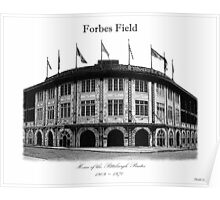 Forbes Field Poster