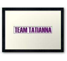 Team Tatianna All Stars 2 Framed Print