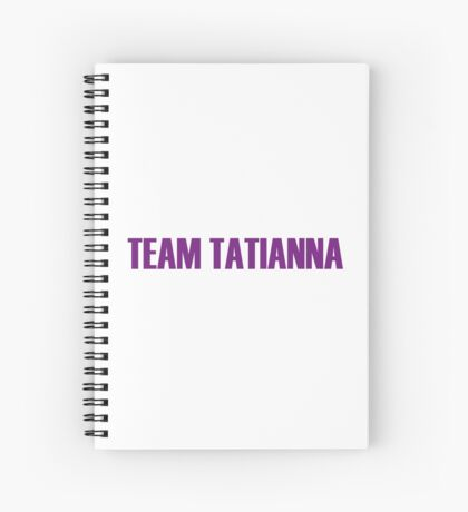 Team Tatianna All Stars 2 Spiral Notebook