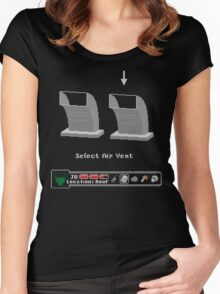 Two Air Vents Women's Fitted Scoop T-Shirt