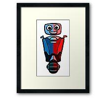 RRDDD Robot Framed Print