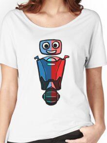 RRDDD Robot Women's Relaxed Fit T-Shirt