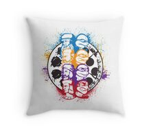 Paintings and Pizza Throw Pillow