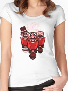 RRDDD Team 2 - Red Women's Fitted Scoop T-Shirt
