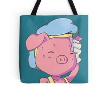 Tired Pig Tote Bag