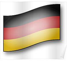 Bundesrepublik Deutschland (Flagged) Poster