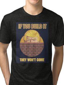 Trump Wall Tri-blend T-Shirt