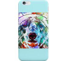 Polar Bear Grunge iPhone Case/Skin
