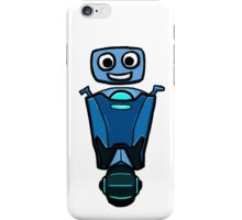 RRDDD Blue Robot iPhone Case/Skin