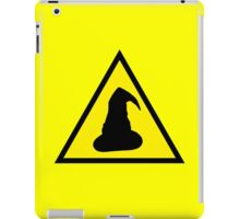 Hazard: Wizards Ahead iPad Case/Skin