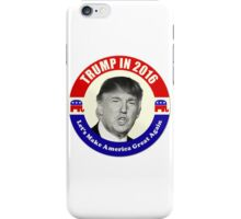 Trump For Prez iPhone Case/Skin