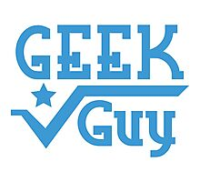 Geek Guy Photographic Print