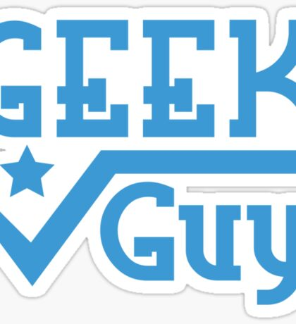 Geek Guy Sticker