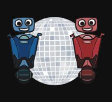 RRDDD Red and Blue Disco One Piece - Short Sleeve