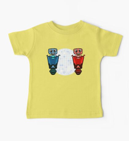 RRDDD Red and Blue Disco Baby Tee