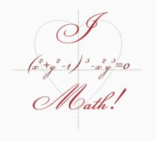 I Heart Math! T-Shirt