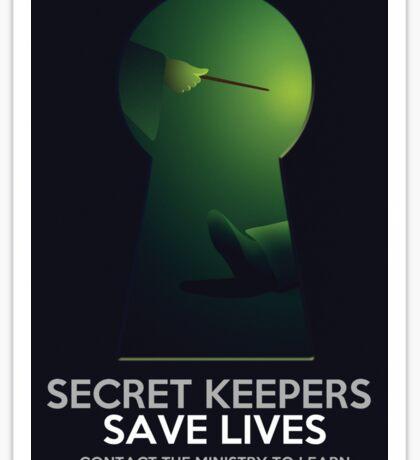 Secret Keepers Save Lives Sticker