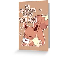 Eevee Love Greeting Card