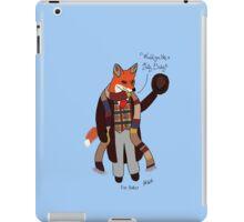 Fox Baker - Fox Who iPad Case/Skin