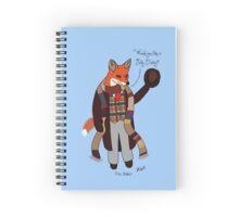 Fox Baker - Fox Who Spiral Notebook