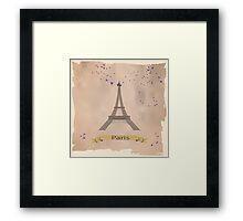 Eiffel tower. Framed Print